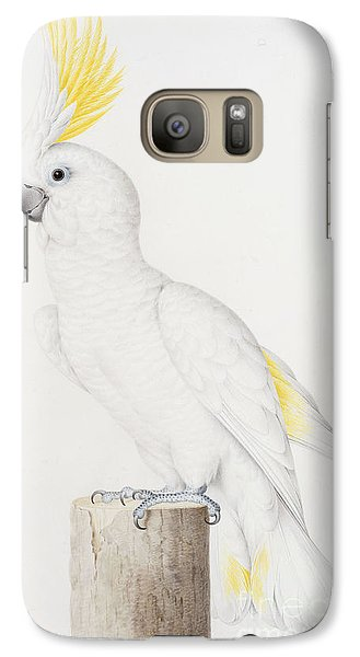Sulphur Crested Cockatoo Galaxy S7 Case by Nicolas Robert