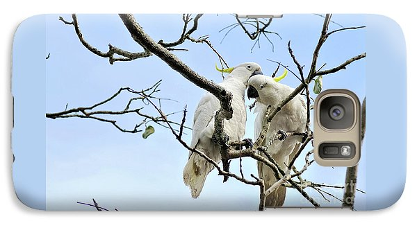 Sulphur Crested Cockatoos Galaxy S7 Case
