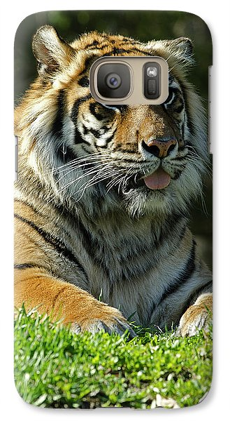 Galaxy Case featuring the photograph Sumatran Tiger by JT Lewis