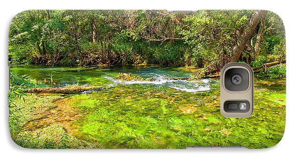Galaxy Case featuring the photograph Summer At Alley Springs by John M Bailey