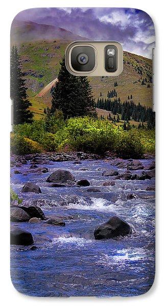 Galaxy Case featuring the photograph Summer At The Animas River by Ellen Heaverlo