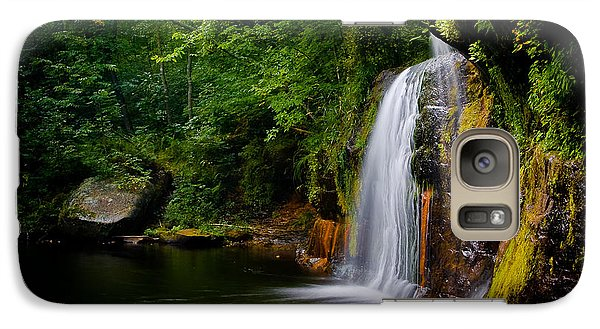 Galaxy S7 Case featuring the photograph Summer At Wolf Creek Falls by Rikk Flohr