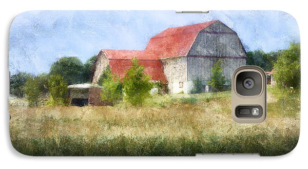 Galaxy Case featuring the digital art Summer Barn by Francesa Miller