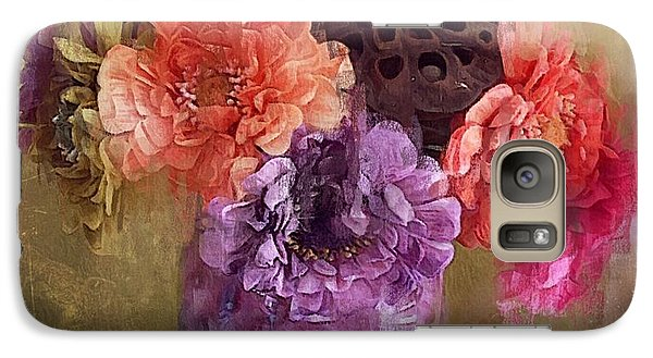 Galaxy Case featuring the digital art Summer Bouquet by Alexis Rotella