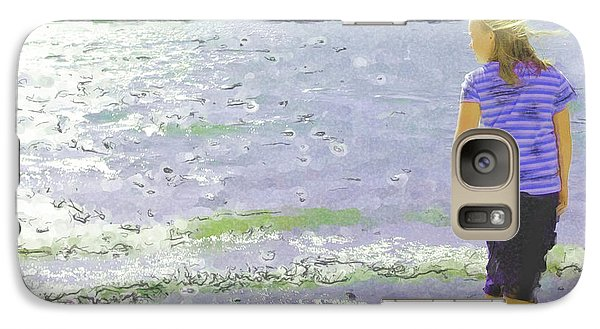 Galaxy Case featuring the photograph Summer Breeze by Debi Dmytryshyn