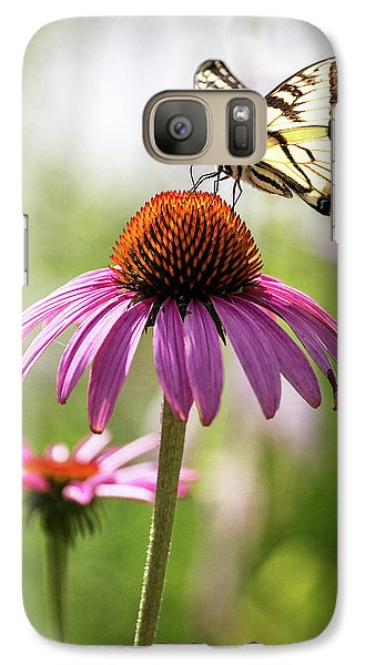 Galaxy Case featuring the photograph Summer Colors by Everet Regal