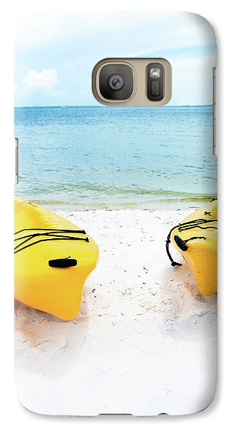 Galaxy Case featuring the photograph Summer Colors On The Beach by Shelby Young