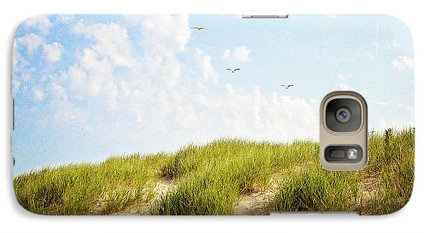 Galaxy Case featuring the photograph Summer Dunes by Melanie Alexandra Price