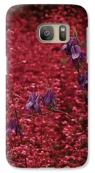 Galaxy Case featuring the photograph Summer Flowers by Viktor Savchenko