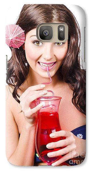 Summer Holidays Galaxy S7 Case