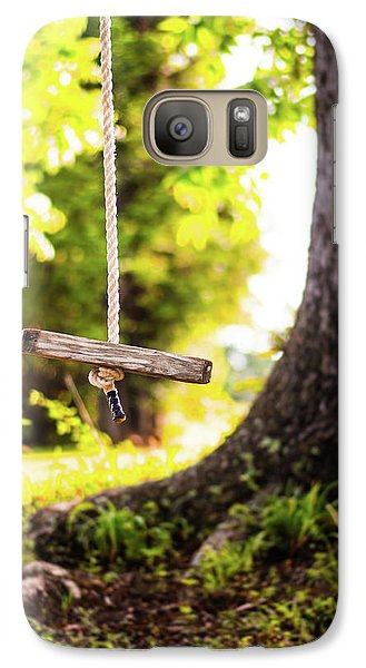 Galaxy Case featuring the photograph Summer Memories On The Farm by Shelby Young