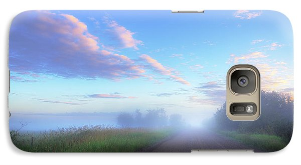 Galaxy Case featuring the photograph Summer Morning In Alberta by Dan Jurak