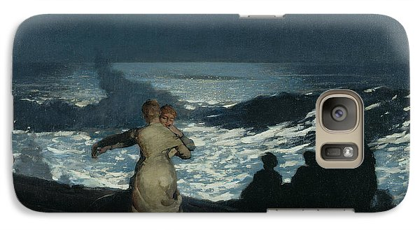 Summer Night Galaxy S7 Case by Winslow Homer