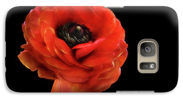 Galaxy Case featuring the photograph Summer Orange by Darren Fisher
