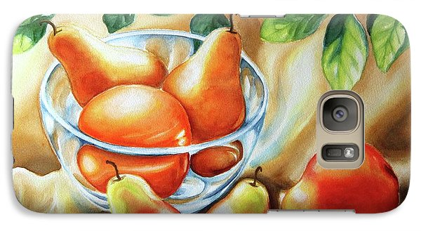 Galaxy Case featuring the painting Summer Pears by Inese Poga