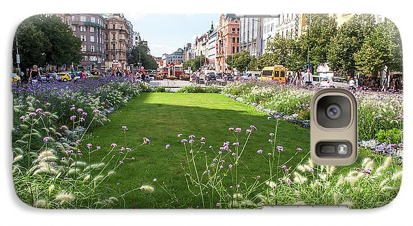Galaxy Case featuring the photograph Summer Prague by Jenny Rainbow