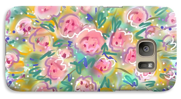 Galaxy Case featuring the painting Summer Scarf by Jean Pacheco Ravinski