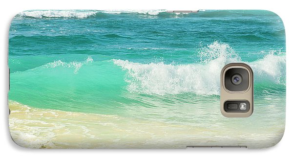 Galaxy Case featuring the photograph Summer Sea by Sharon Mau