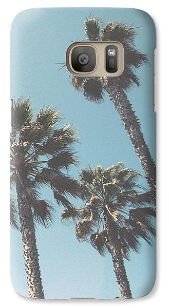 Summer Sky- By Linda Woods Galaxy S7 Case by Linda Woods
