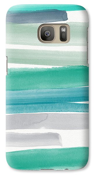 Summer Sky Galaxy S7 Case by Linda Woods