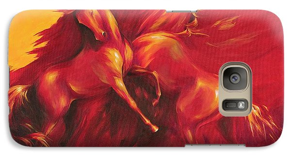 Galaxy Case featuring the painting Summer Solstice by Dina Dargo