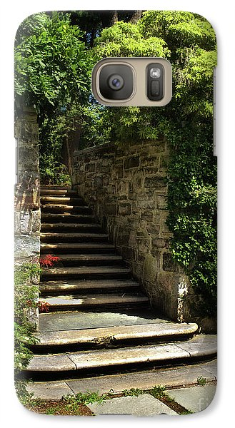 Galaxy Case featuring the photograph Summer Steps by Mark Miller