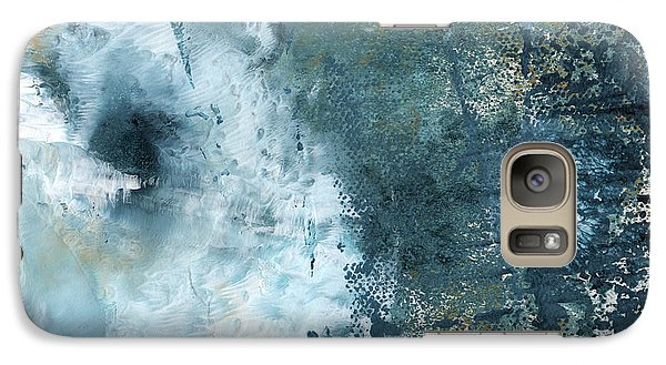 Rolling Stone Magazine Galaxy S7 Case - Summer Storm- Abstract Art By Linda Woods by Linda Woods