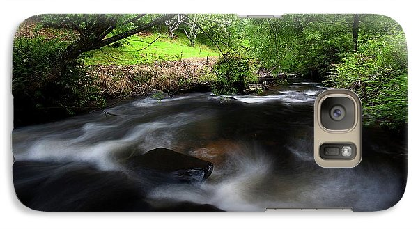 Galaxy Case featuring the photograph Summer Stream by Tim Nichols