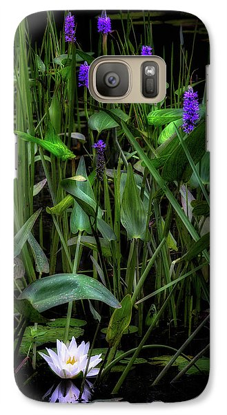 Galaxy Case featuring the photograph Summer Swamp 2017 by Bill Wakeley