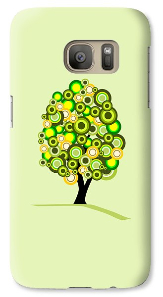 Garden Galaxy S7 Case - Summer Tree by Anastasiya Malakhova