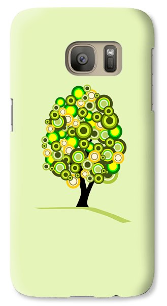 Summer Tree Galaxy S7 Case by Anastasiya Malakhova