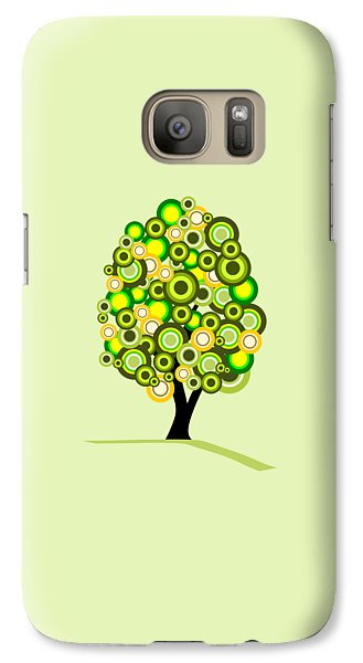 Summer Tree Galaxy Case by Anastasiya Malakhova