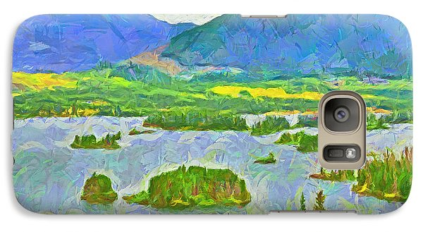 Summer View Of Lake Dillon In The Colorado Rocky Mountains Galaxy S7 Case