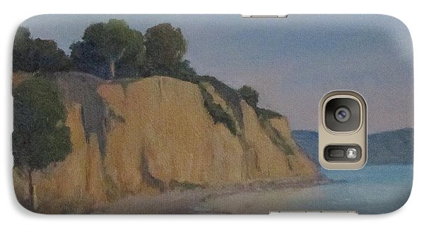 Galaxy Case featuring the painting Summerland Beach Study by Jennifer Boswell
