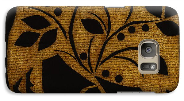 Galaxy Case featuring the mixed media Summer's Bounty by Gloria Rothrock
