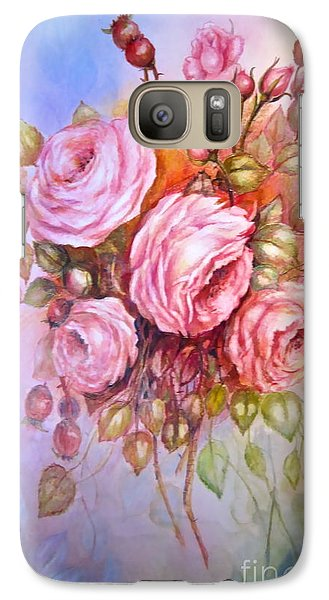 Galaxy Case featuring the painting Summers Glory by Patricia Schneider Mitchell