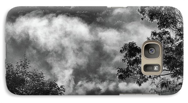 Galaxy Case featuring the photograph Summer's Leaving by Steven Huszar