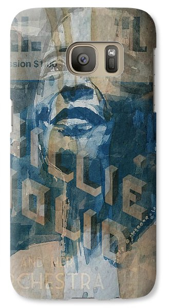 Rhythm And Blues Galaxy S7 Case - Summertime by Paul Lovering