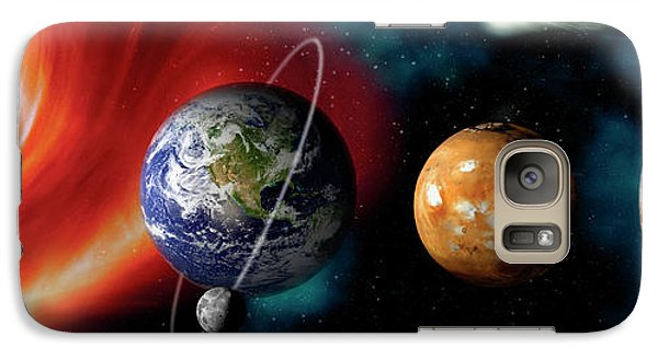 Sun And Planets Galaxy Case by Panoramic Images