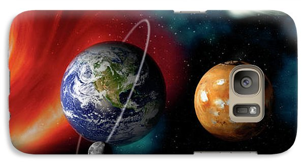 Sun And Planets Galaxy S7 Case by Panoramic Images