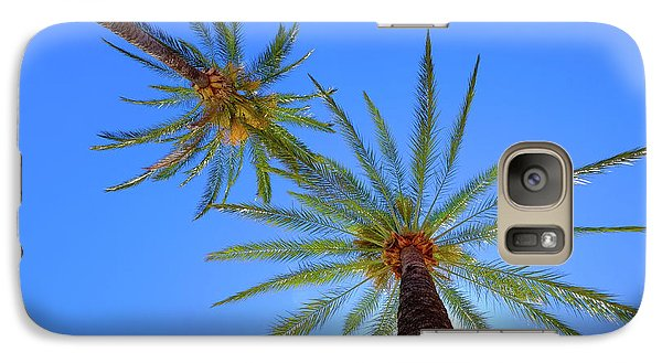 Sun Bed View Galaxy S7 Case