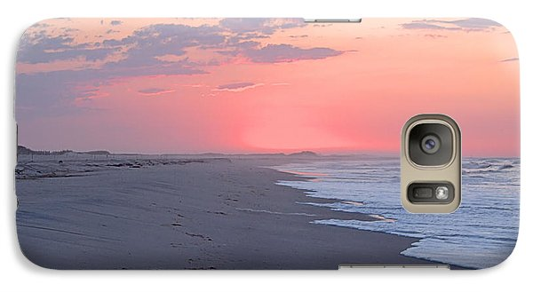 Galaxy Case featuring the photograph Sun Brightened Clouds by  Newwwman