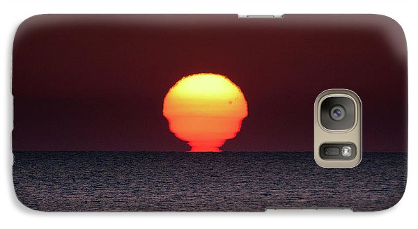 Galaxy Case featuring the photograph Sun by Bruno Spagnolo