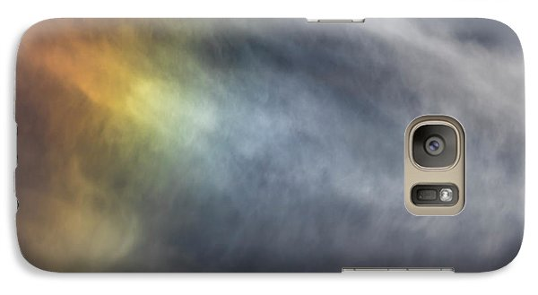 Galaxy Case featuring the photograph Sun Dog 2017 by Thomas Young