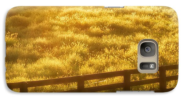 Galaxy Case featuring the photograph Sun-drenched Pasture by Mark Miller