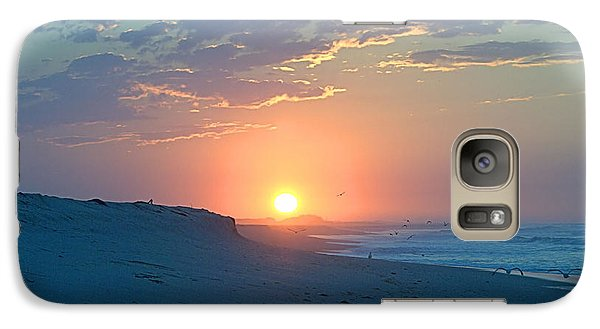 Galaxy Case featuring the photograph Sun Glare by  Newwwman