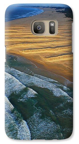 Sun Rise Coast  Galaxy Case by Skip Hunt