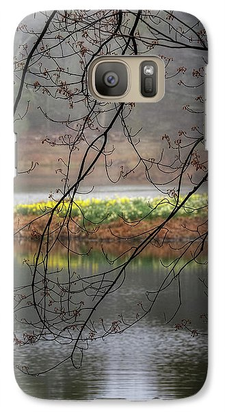 Galaxy Case featuring the photograph Sun Shower by Bill Wakeley