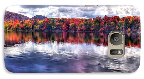 Galaxy S7 Case featuring the photograph Sun Streaks On West Lake by David Patterson