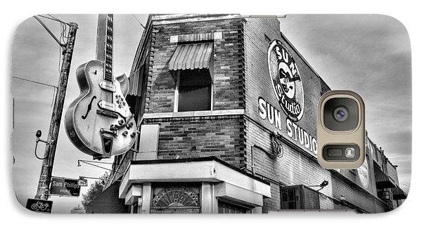 Johnny Cash Galaxy S7 Case - Sun Studio - Memphis #2 by Stephen Stookey